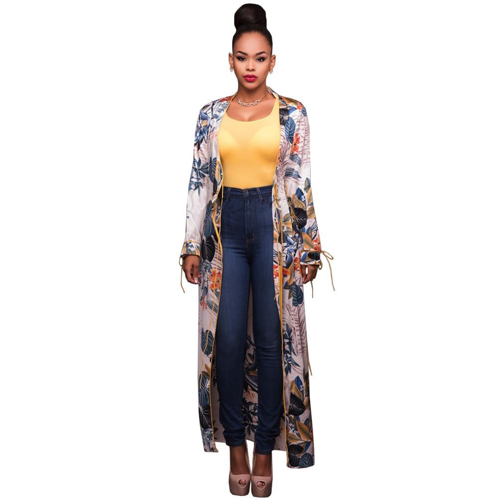 a0516a0698 Ethnic Floral Print White Shirt Women Elegant Summer Tops Kimono Beach  Tunic Cover Up Blusas