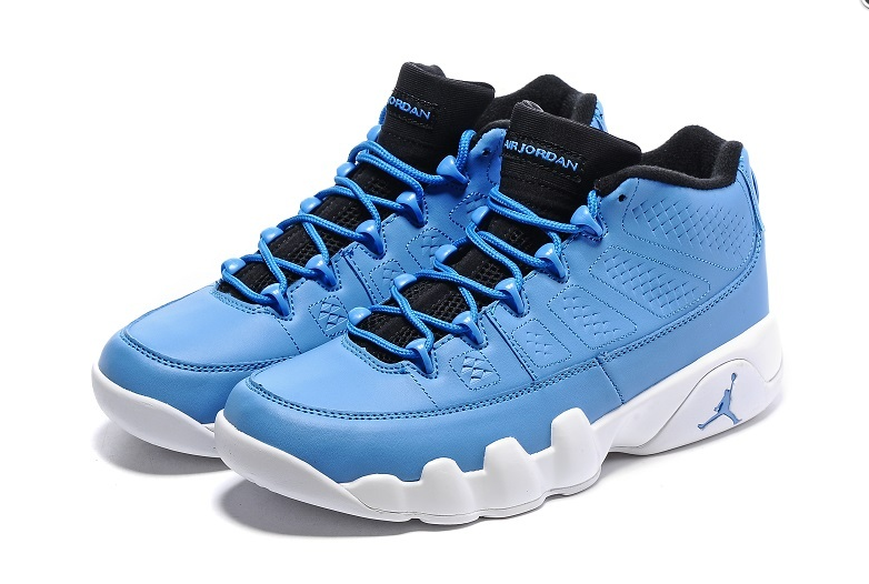 "the latest 346f1 998be Air Jordan 9 Retro Low ""Pantone"" University Blue Black-White sold by  Snapbacks9NY"