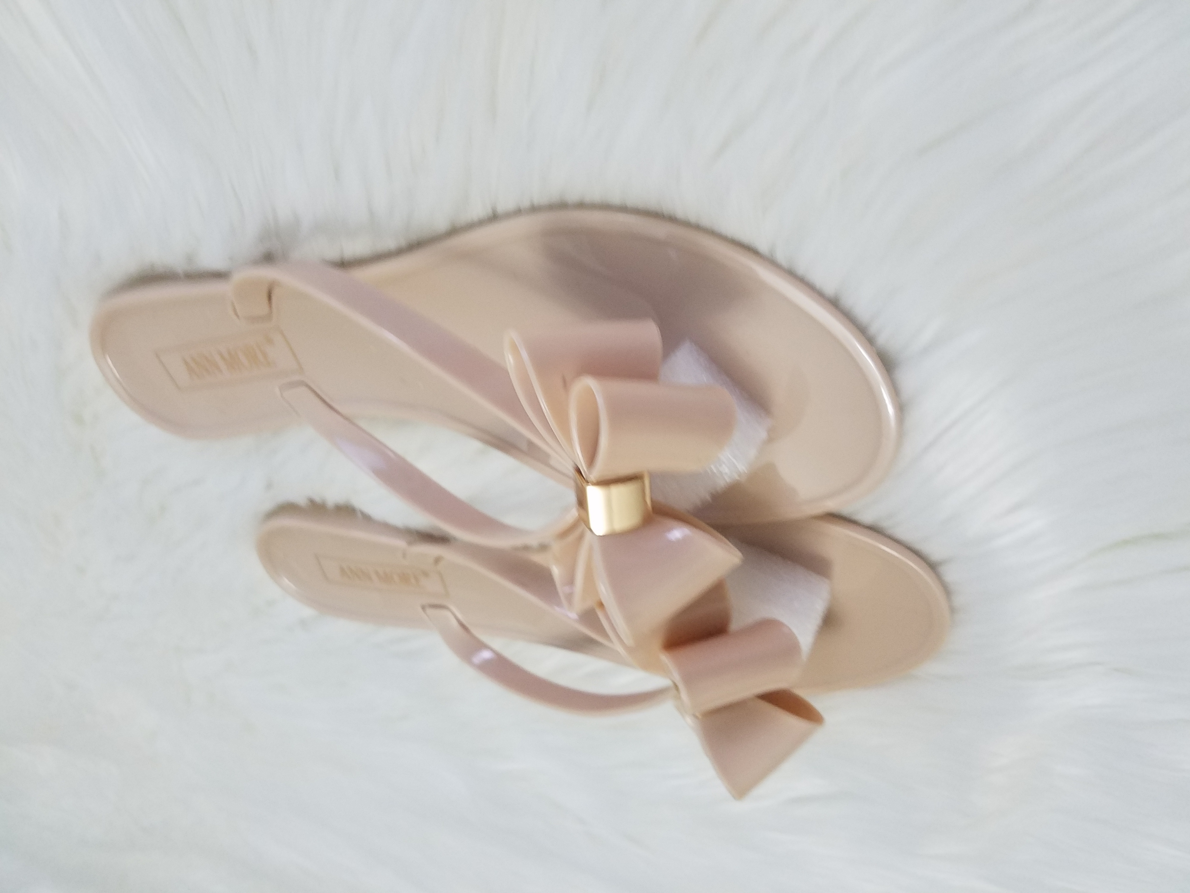 1fe404a9493d Jelly Bow Thong Flat Sandals on Storenvy