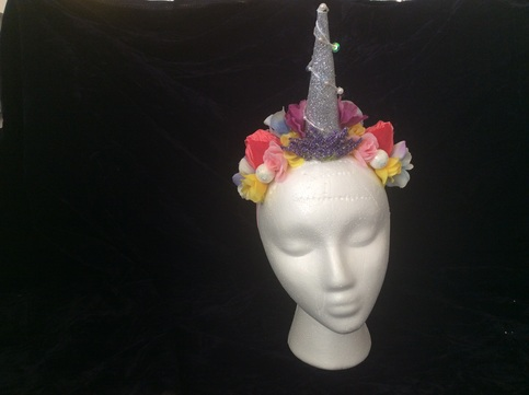 0c2d899726e Unicorn tri-colored tail and headpiece on Storenvy