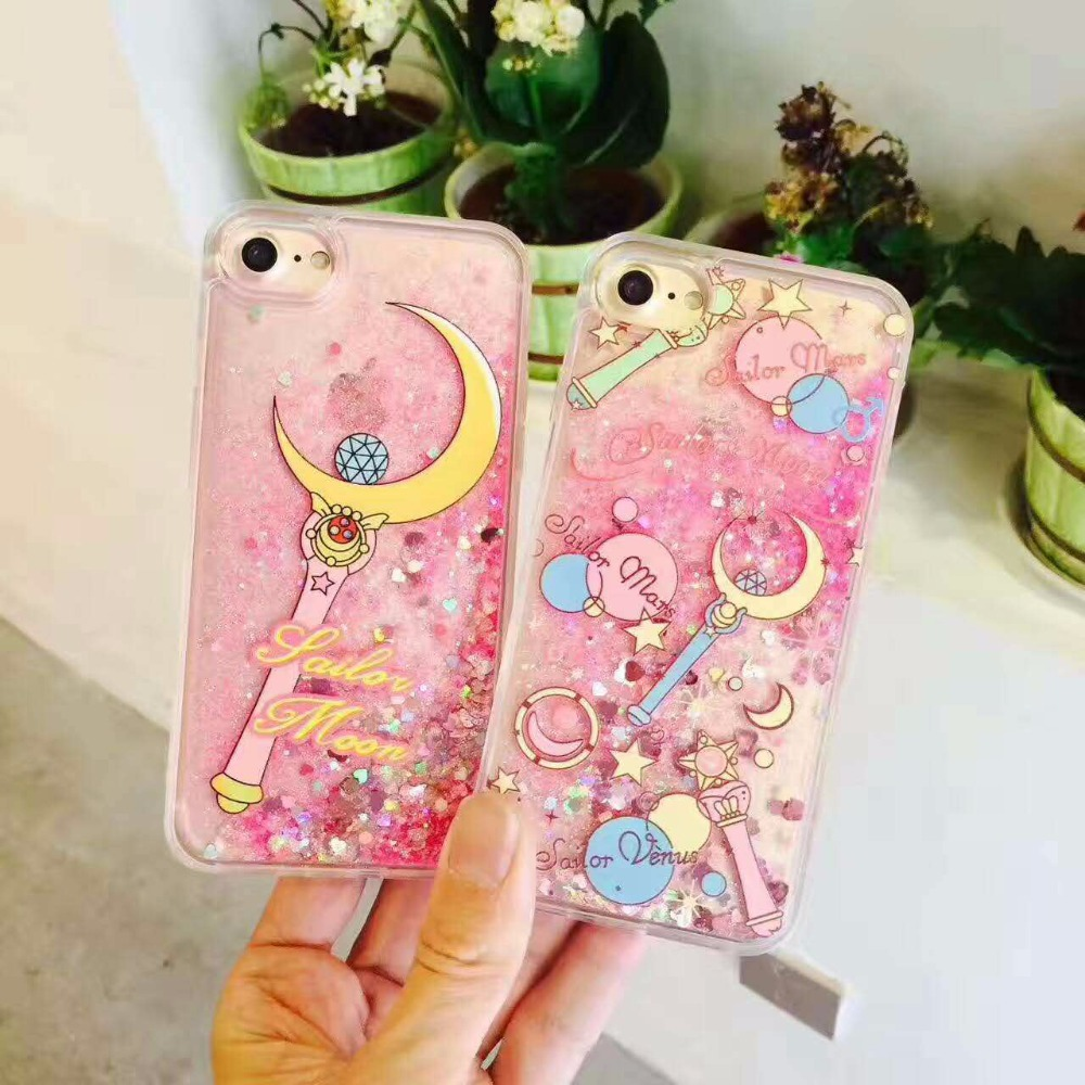 great fit 6e927 cfe1f Sailor Moon Glitter IPhone Case