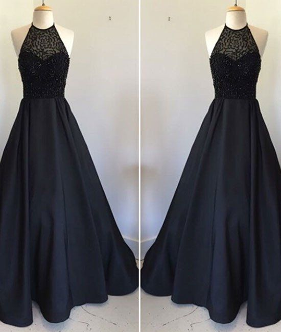 World Of Architecture 16 Simple Elegant And Affordable: New Style Elegant Prom Dress Black Prom Gown,Prom Dresses