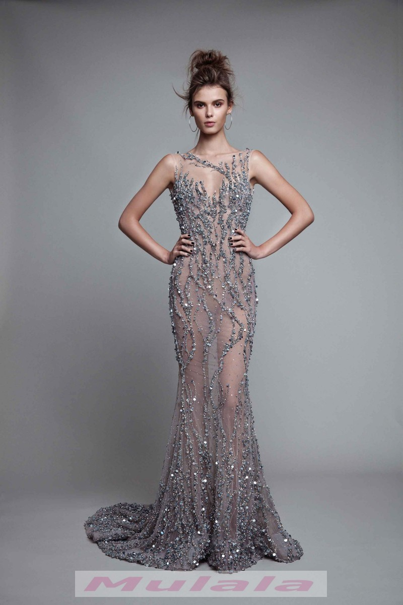 071f5a75ae1 Luxury Crystal Beaded Backless Prom Dresses 2018 Berta See Through Party  Gowns Mermaid Long Evening Dress on Storenvy