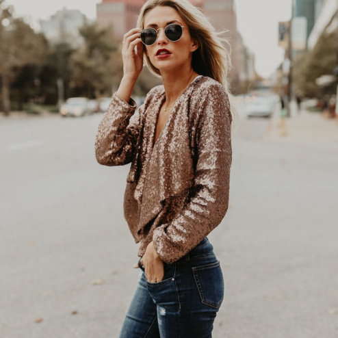 71b7976264b Glam it Up Sequin Jacket · Fashion Struck · Online Store Powered by ...