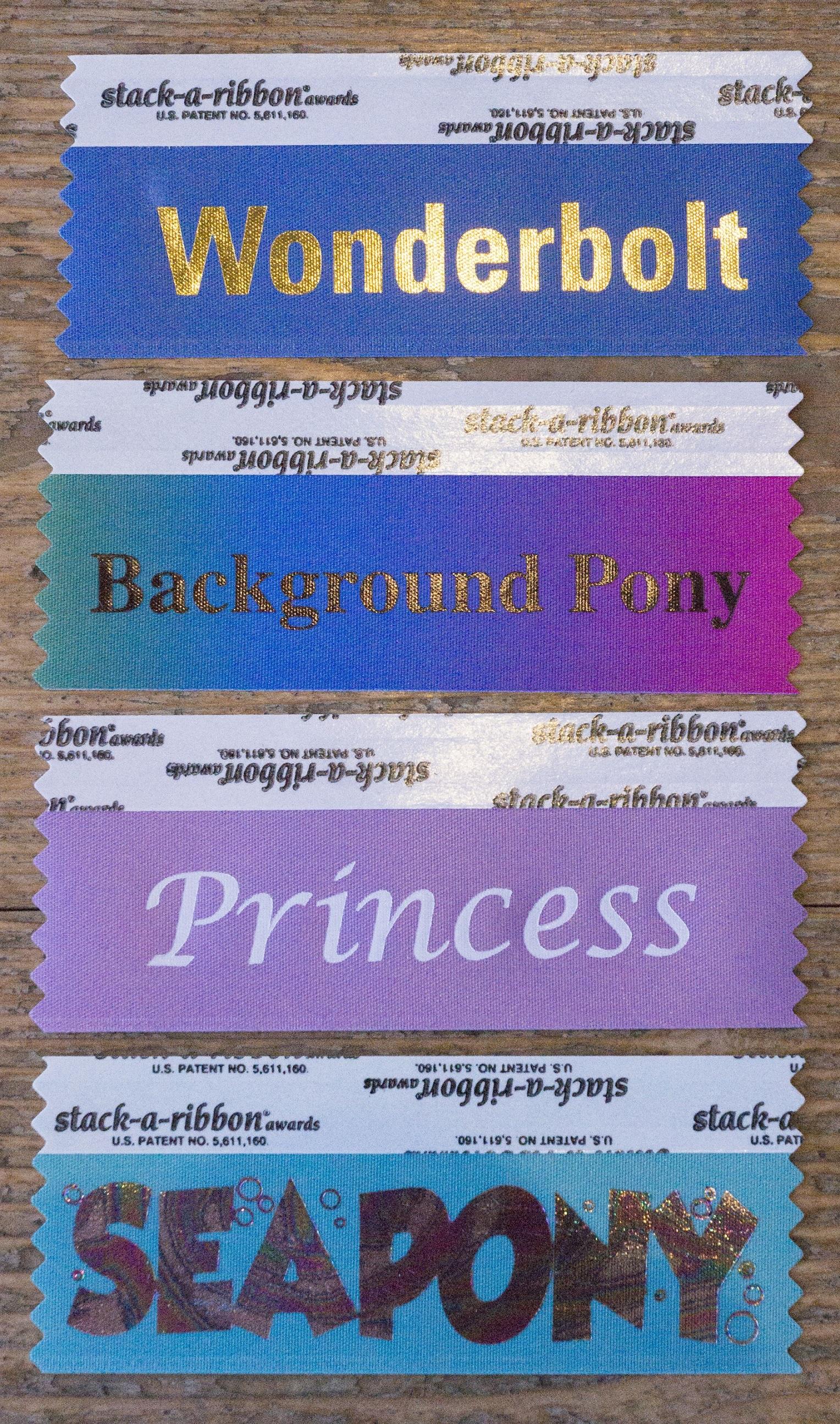 Badge Ribbon from Equestria LA