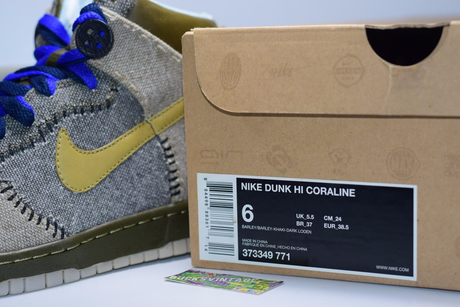 new product 5bd3b f0d14 ... sale size 6 new 2009 nike dunk high coraline 373349 771 thumbnail 4  1fba1 e095a