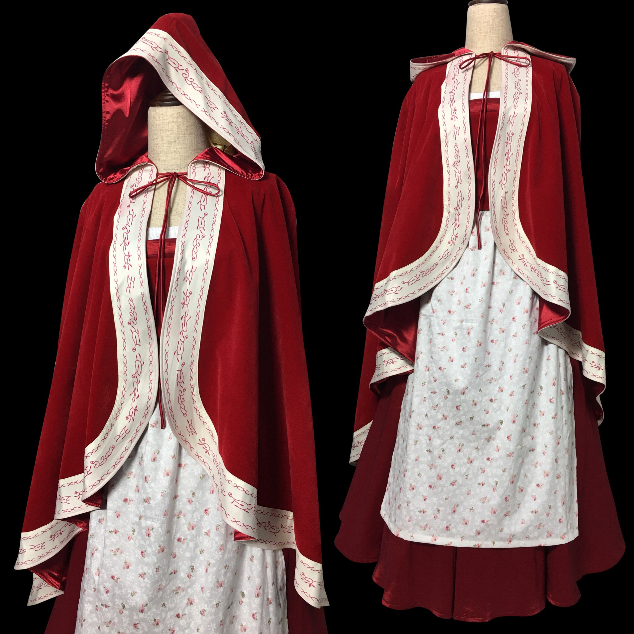 P117 Live action 2017 Belle Beauty and the beast cape cloak and dress full  set from angel-secret