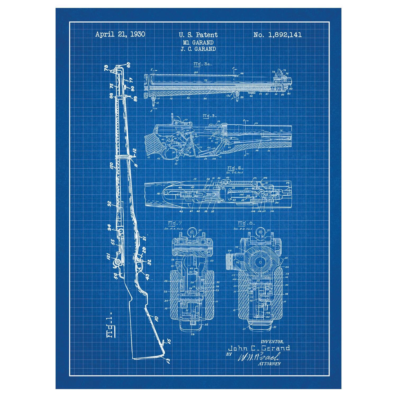 M Garand Schematic Diagram on