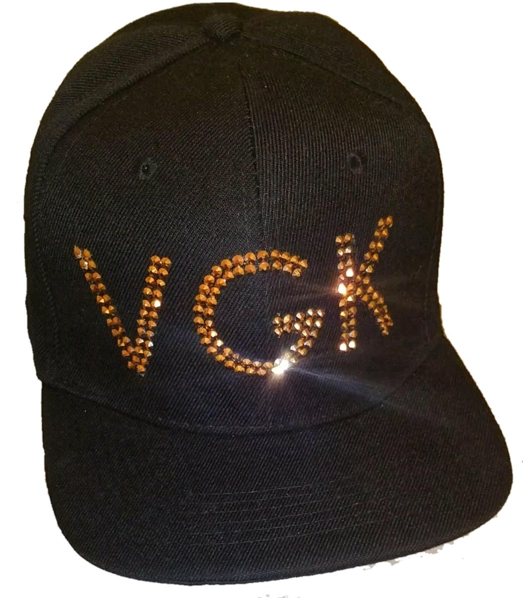 26bca0f841556 For NHL Vegas Golden Knights Fans  Swarovski® Crystal VGK Snapback Cap Hat.  BLING IT ON! on Storenvy