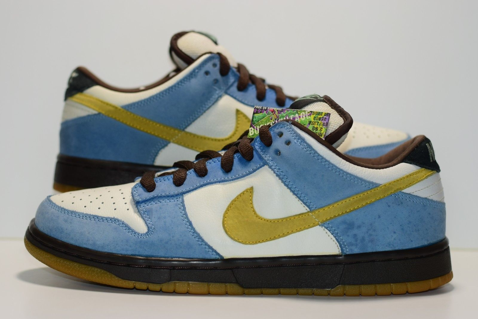 new product af0b7 164c8 Size 10 | 2004 Nike Dunk Low Pro SB HOMER Authentic 304292-173 from  BucksVintage