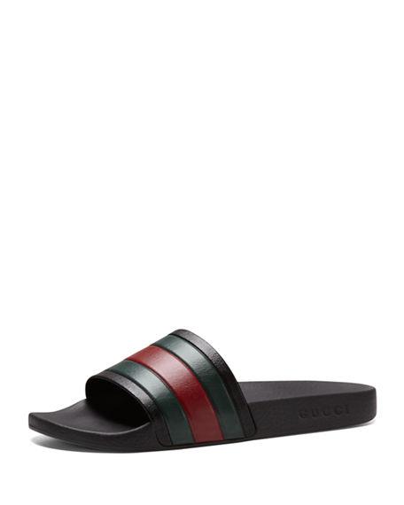 5c59476fa26e2 Gucci Pursuit  72 Rubber Slide Sandal · TroyKicksShop · Online Store ...