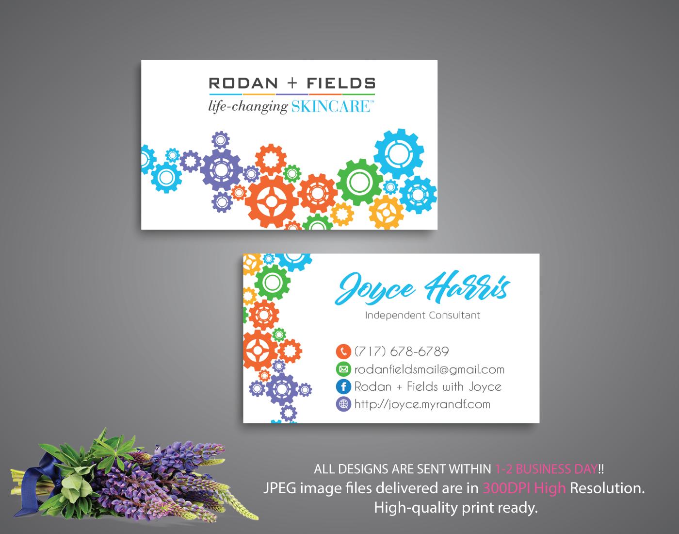 Rodan and fields business cards rodan and fields digital files file 64b7535c49 original colourmoves