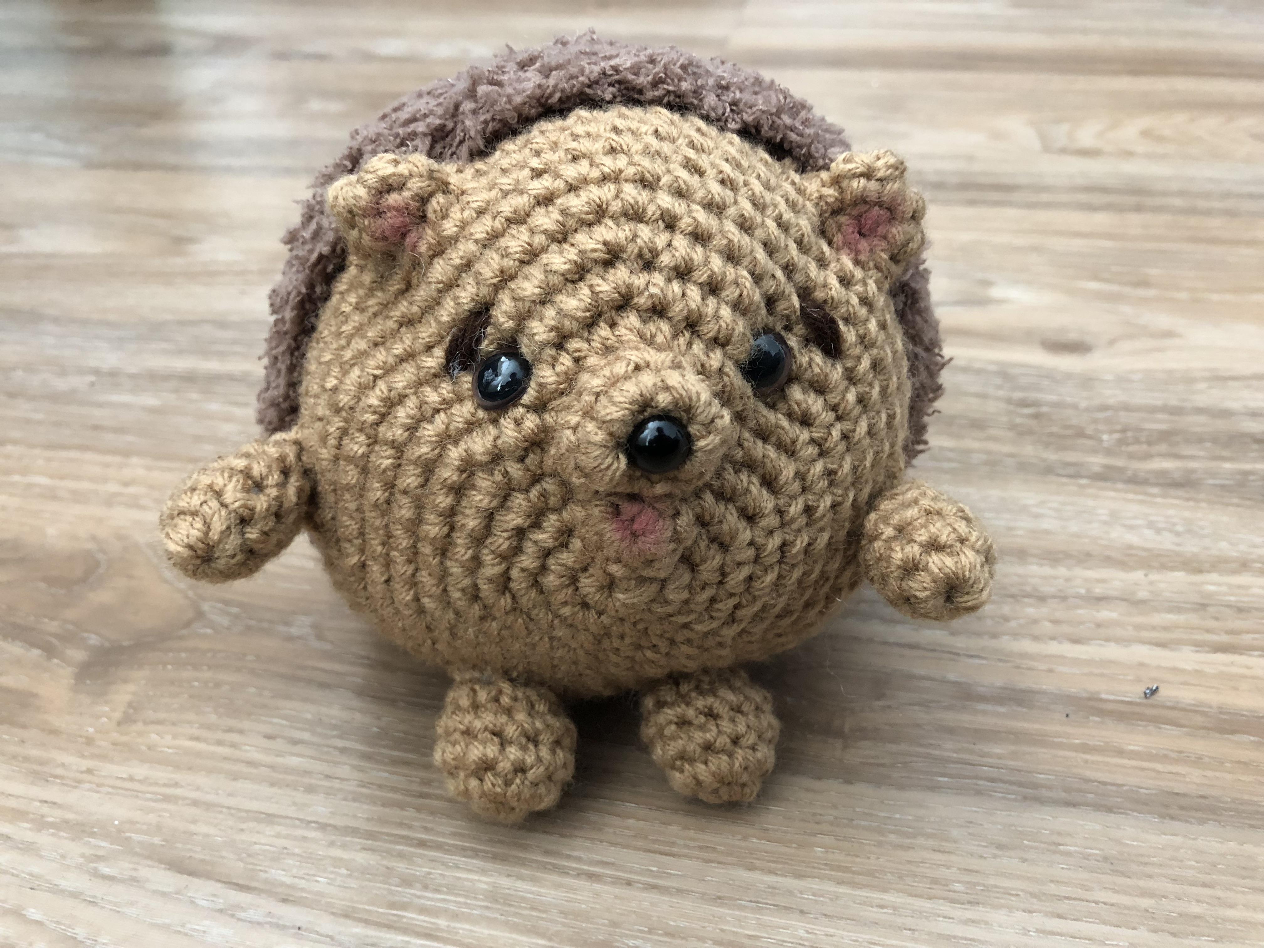 Hedgehog Plush on Storenvy