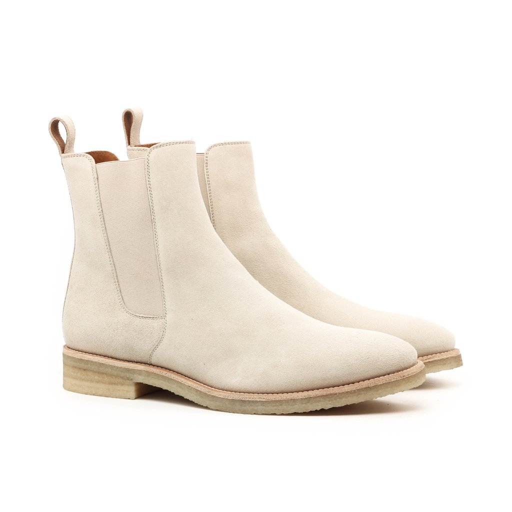 CHELSEA BOOTS with SAND CREPE For Men
