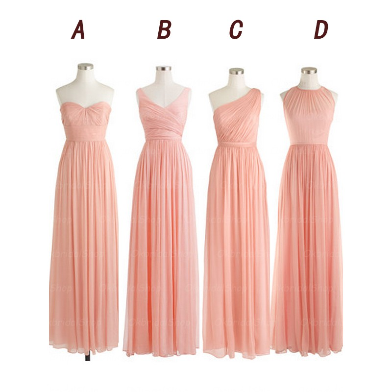 low price sale free shipping sneakers for cheap Blush pink bridesmaid dresses, cheap bridesmaid dresses ...