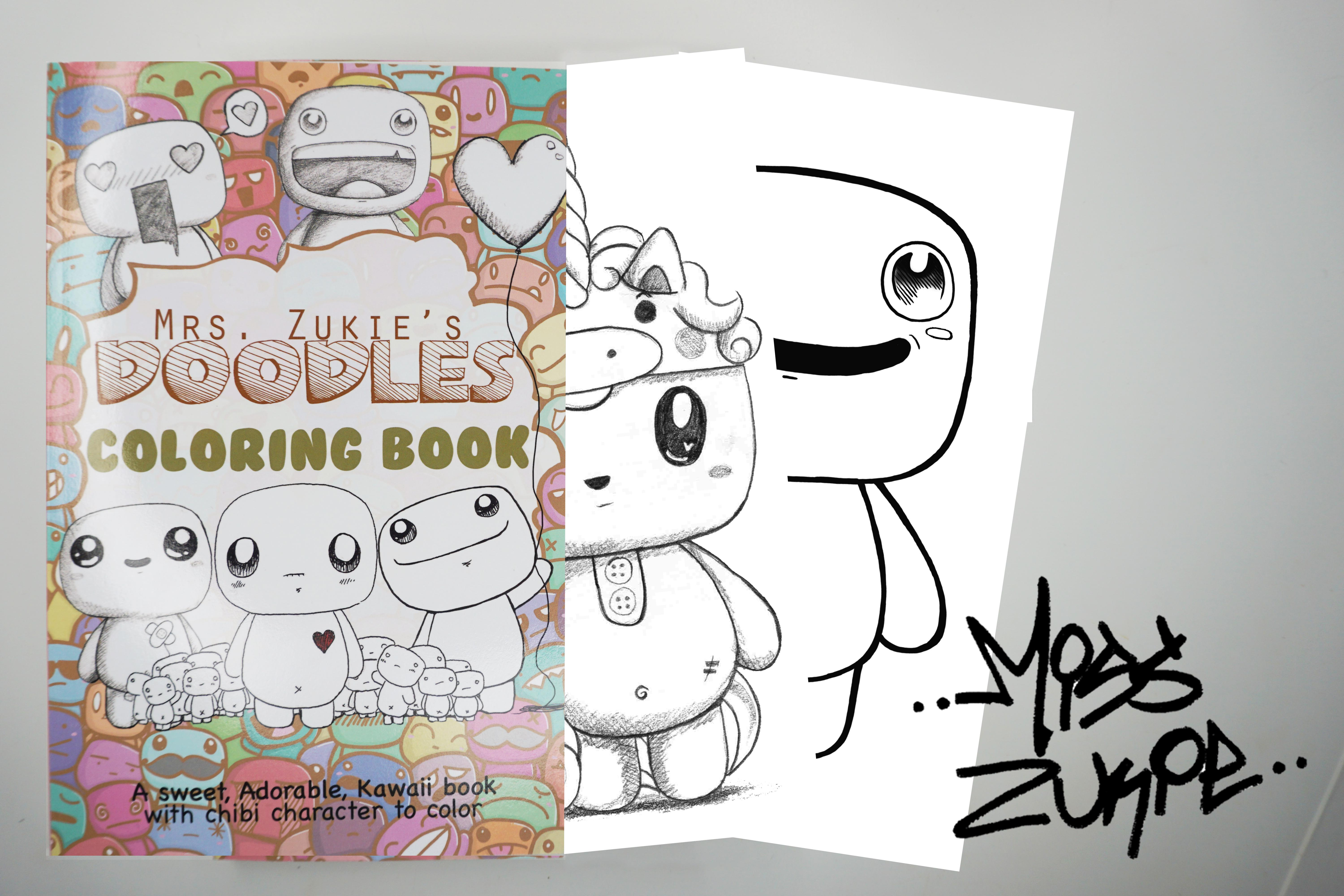 - Mrs. Zukies Doodles Coloring Book On Storenvy