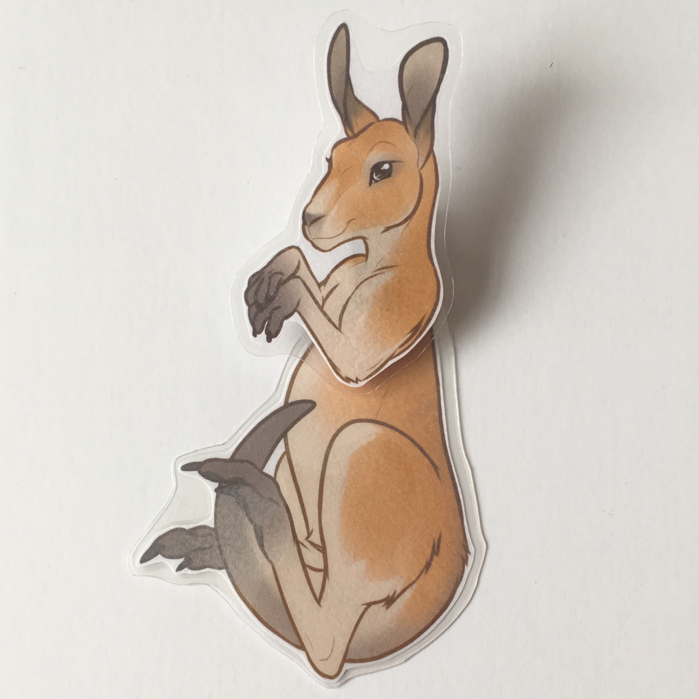 Kangaroo Badge Buddy from INKtiger's Shop