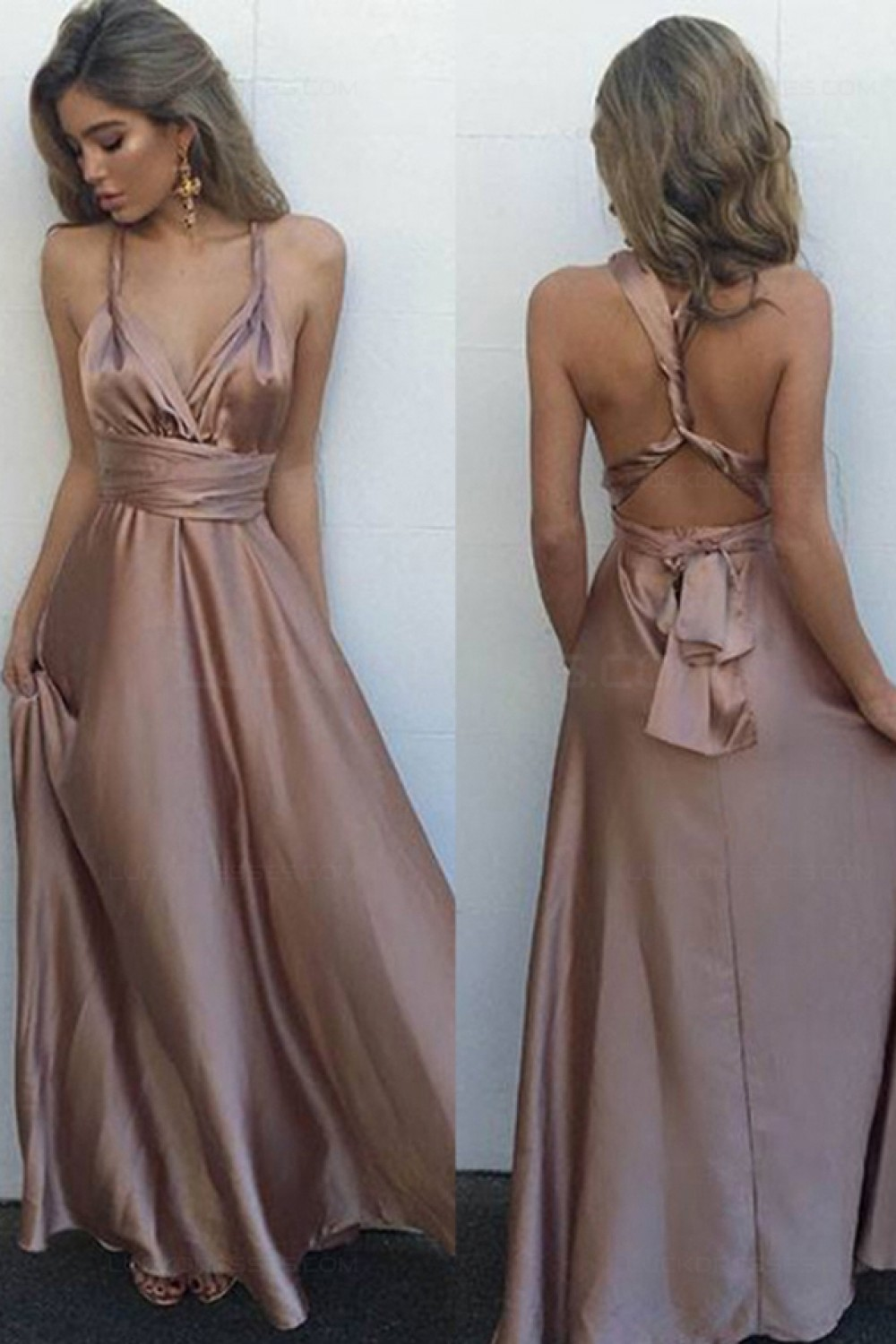 A-Line Long Prom Dresses Party Evening Gowns G286 · MeetBeauty ...