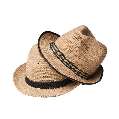 aa8b51cd1 Womens Mesh Stitching Big Brim Beach Hat Straw Floppy Sunhade Hat ...