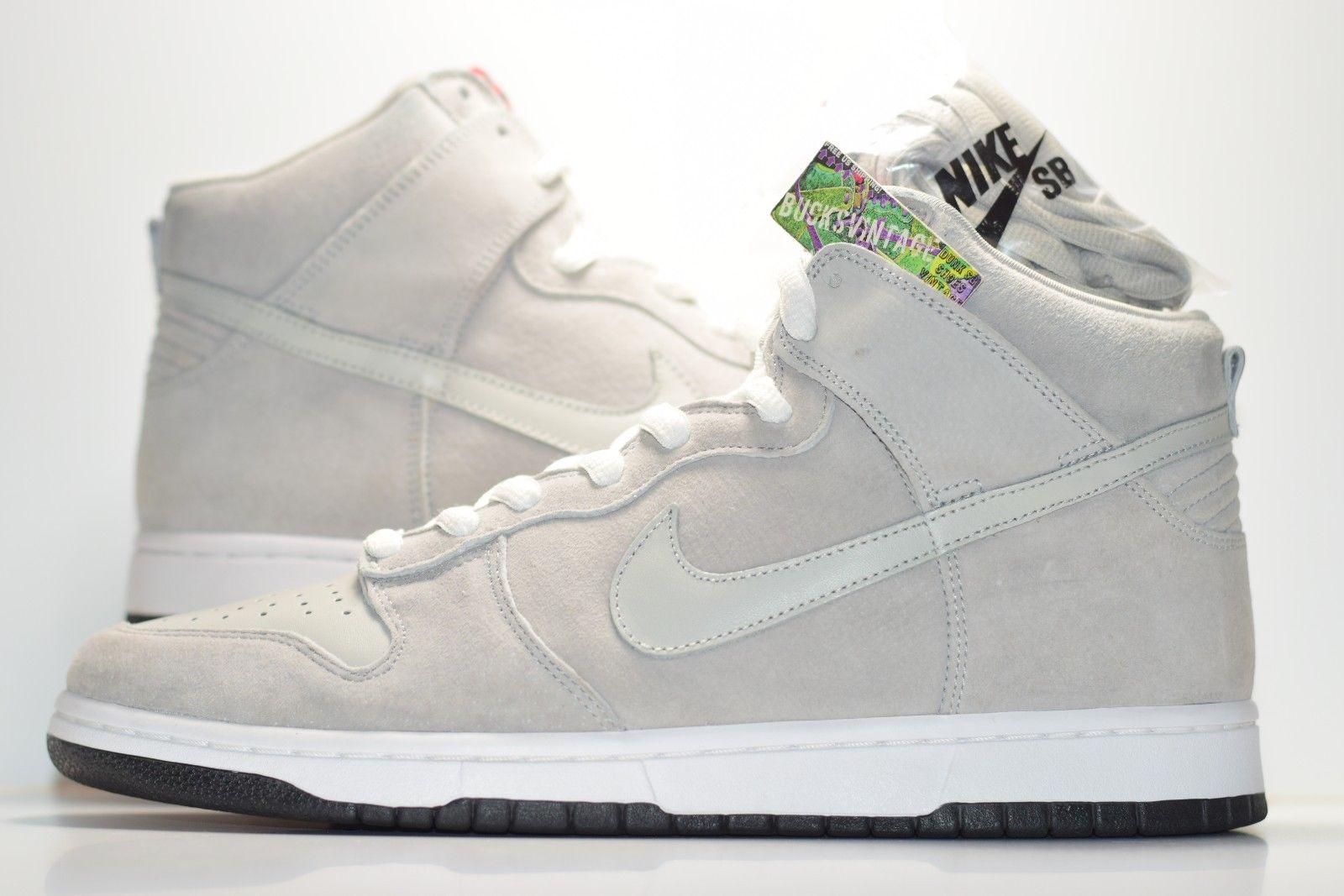 premium selection f7287 f63b3 Size 11   2007 Nike Dunk High PEE WEE HERMAN Fallen Heroes Pack #305050-004  grey heather/grey heather from BucksVintage