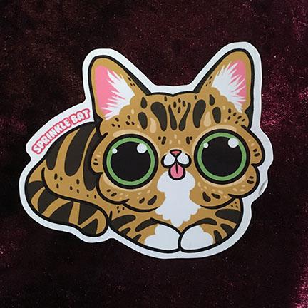 Lil bub sticker