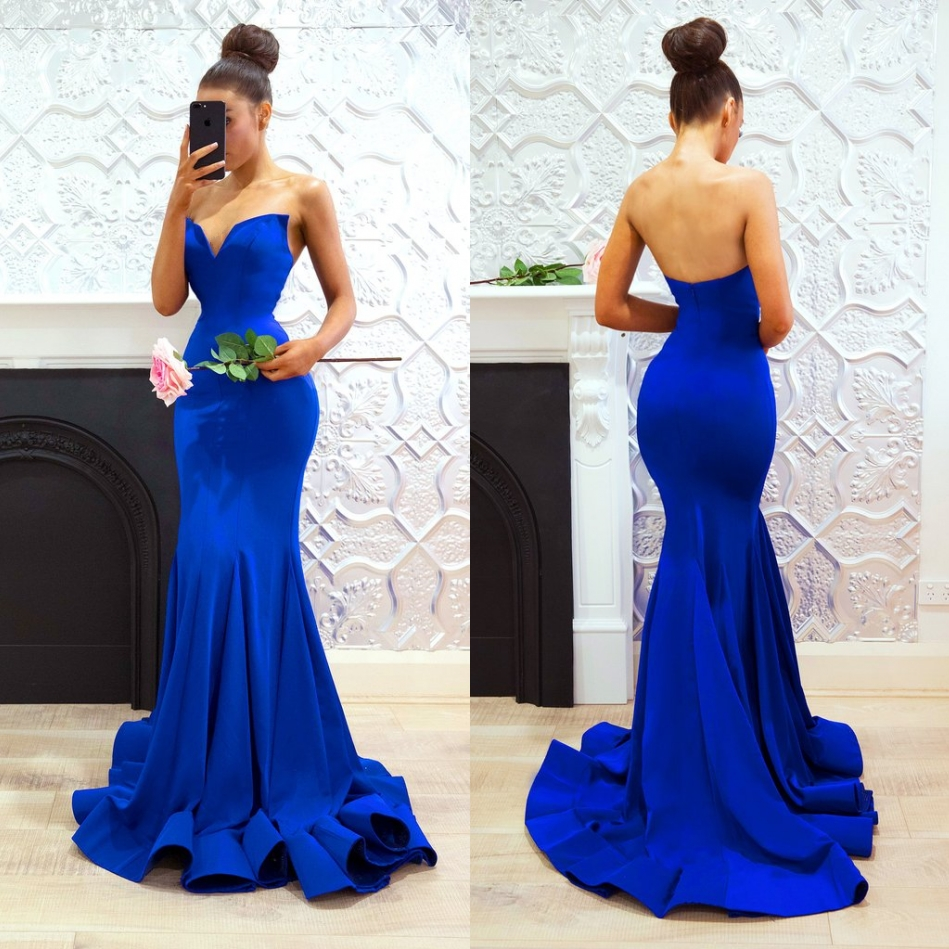 ad3cd7fadf4 Sexy Royal Blue Prom Dresses