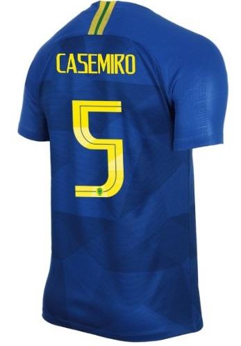 e7060c58c  12 MARCELO Brazil World Cup 2018 Men Soccer Jersey Away Football Shirt BLUE