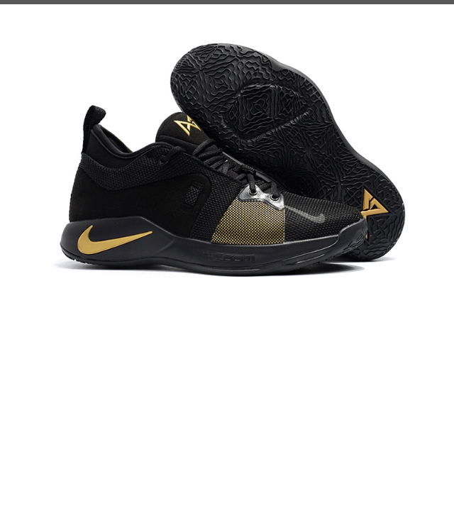 7c72bc28a583 ... High-end Product Nike Paul George PG2 Playstation Black Gold Men s  Basketball Shoes - Thumbnail ...