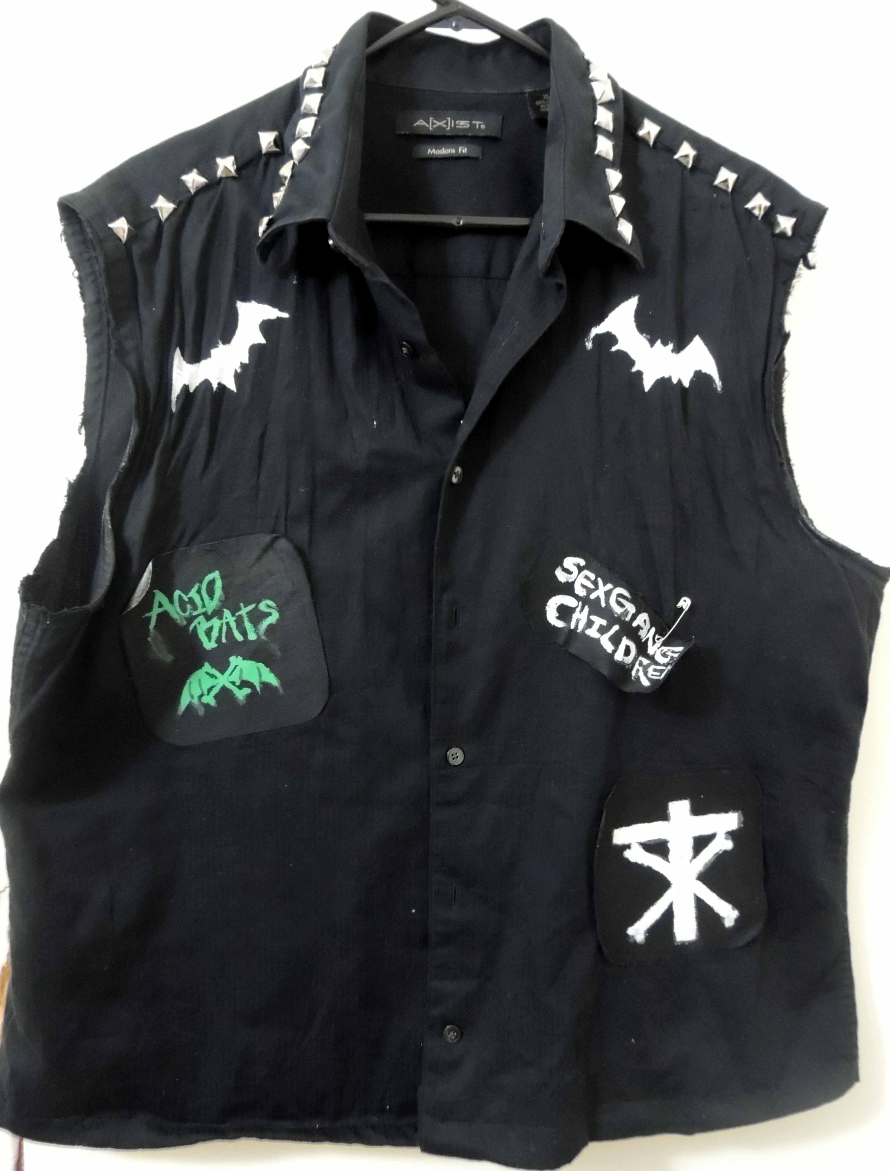 D I Y Deathrock Goth Vest On Storenvy