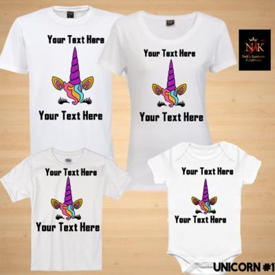 a98ae27ae Unicorn #1 Birthday Shirts · Nek's Kustom Kreationz · Online Store Powered  by Storenvy