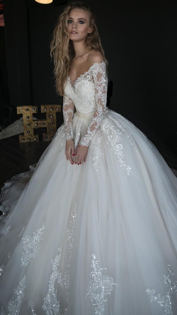c74d0f0300c Elegant White Lace Wedding Dress,Off The Shoulder Bridal Dress,Lace Tulle  High Quality ...
