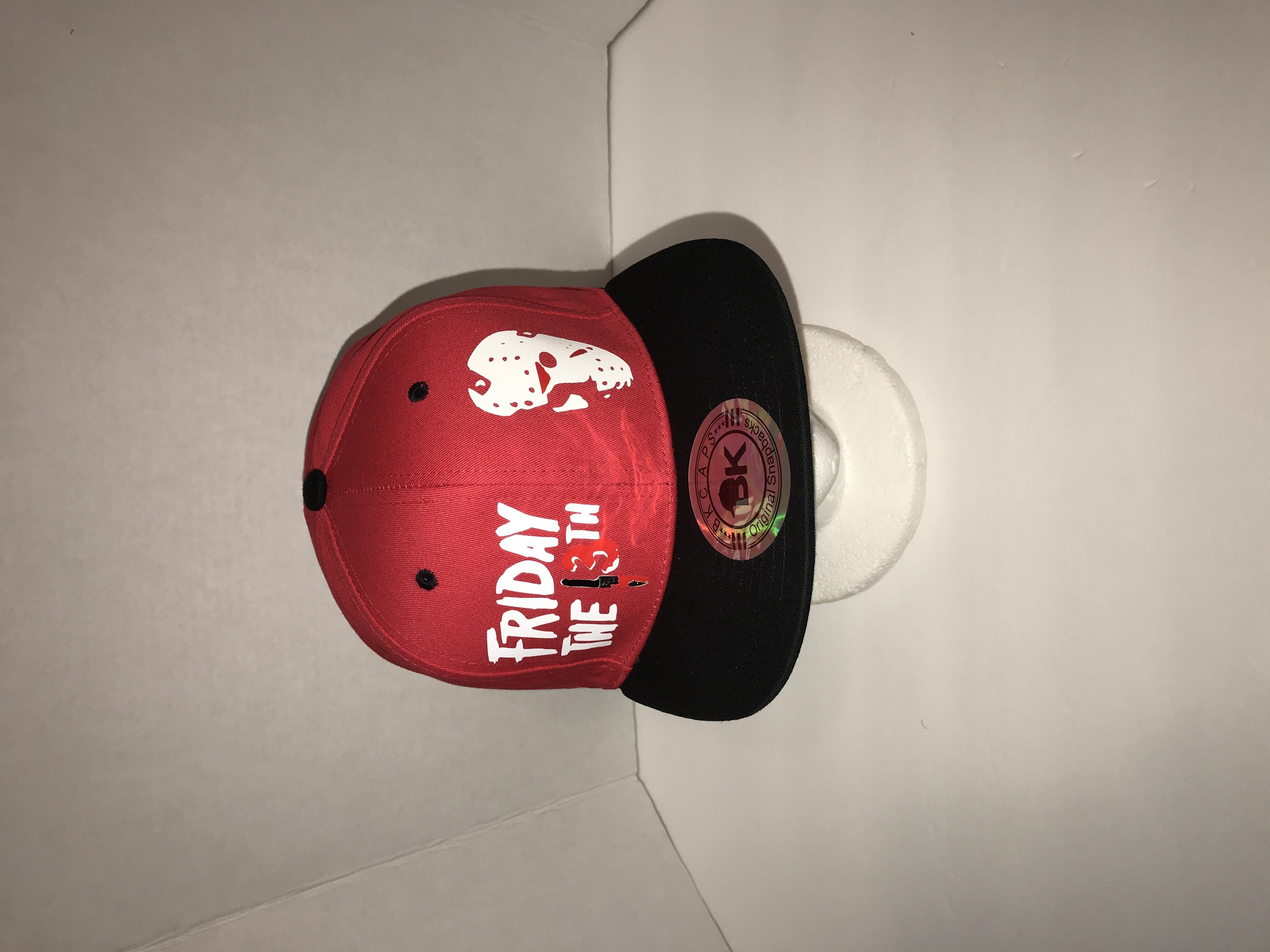 4683ce3b792 Friday the 13th Jason Vorhees snapback Hat BK Caps on Storenvy