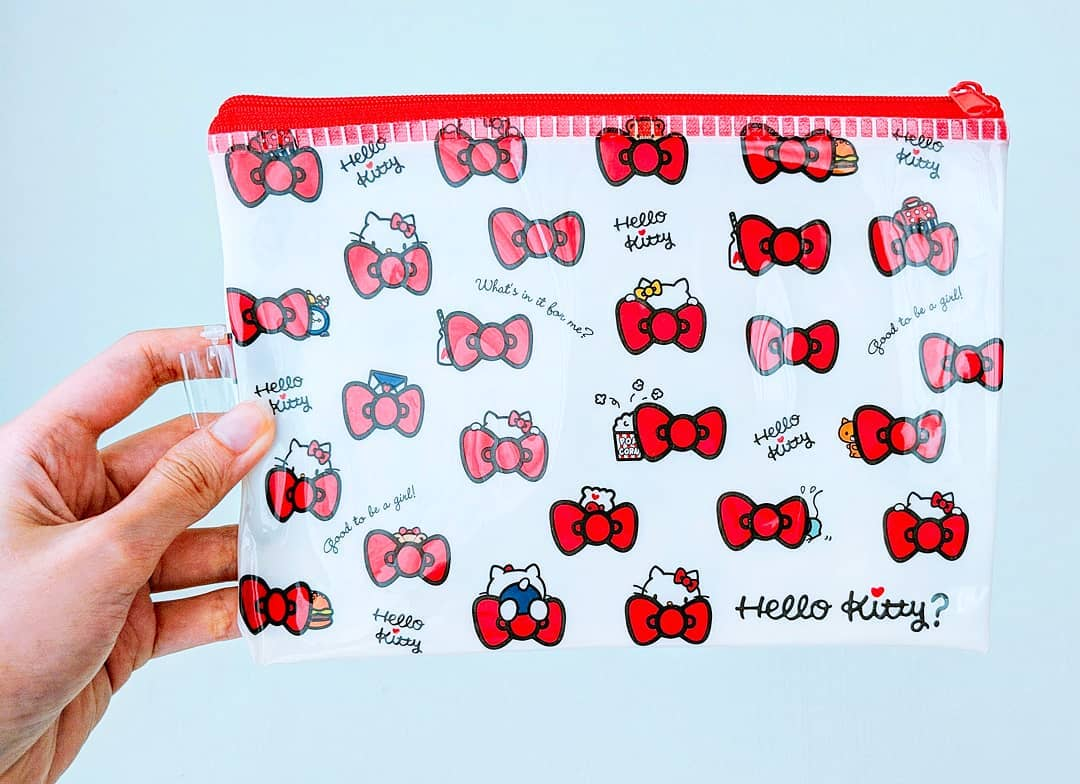 1c0d0c1e7 Hello Kitty Zipper Travel Pouch on Storenvy