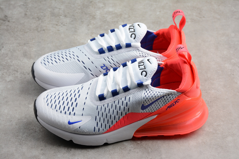 Nike Air Max 270 White Ultramarine Solar Red AH6789-101 on Storenvy 2f39da41360f