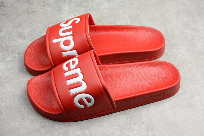 5dee03512266 Fashion supreme slide red on Storenvy