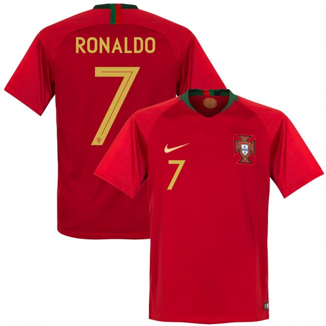 new style 06df0 c7cce NEW Cristiano Ronaldo # 07 Portugal Men's Soccer Home Jersey World Cup 2018  from DominicStyle