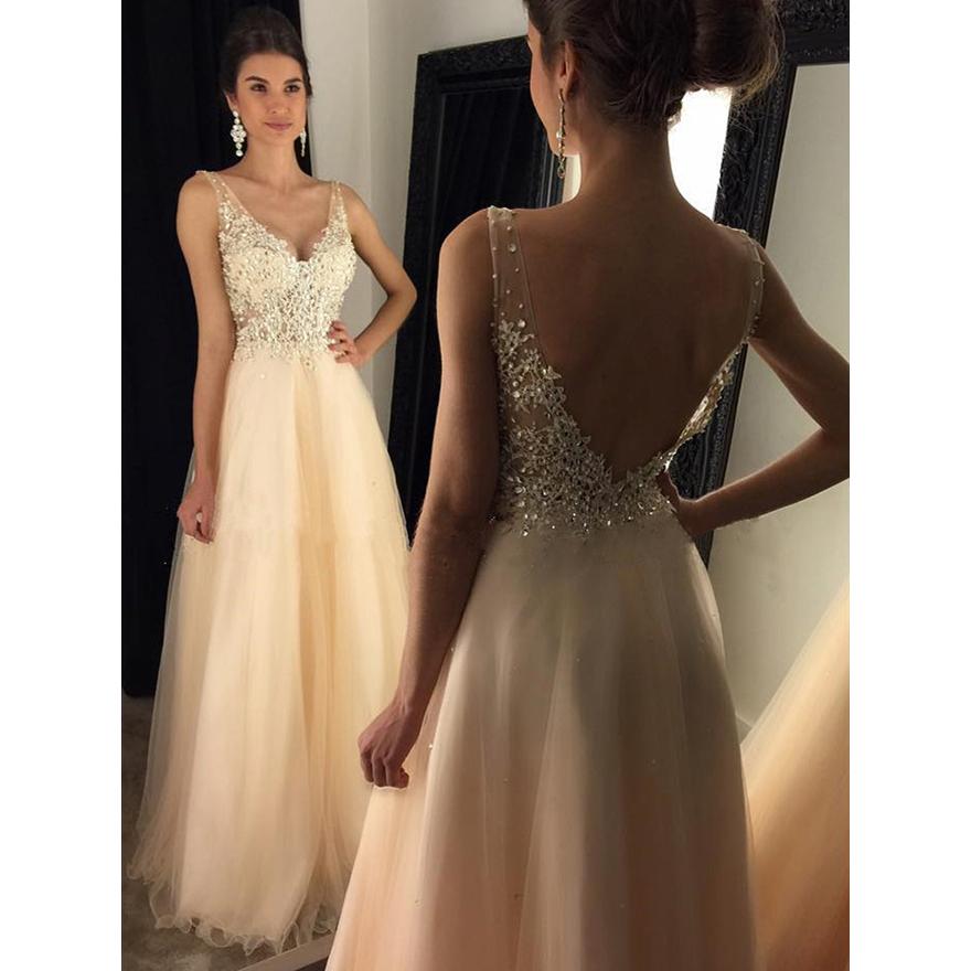 0fed461cef3c Glamorous Backless Prom Dresses