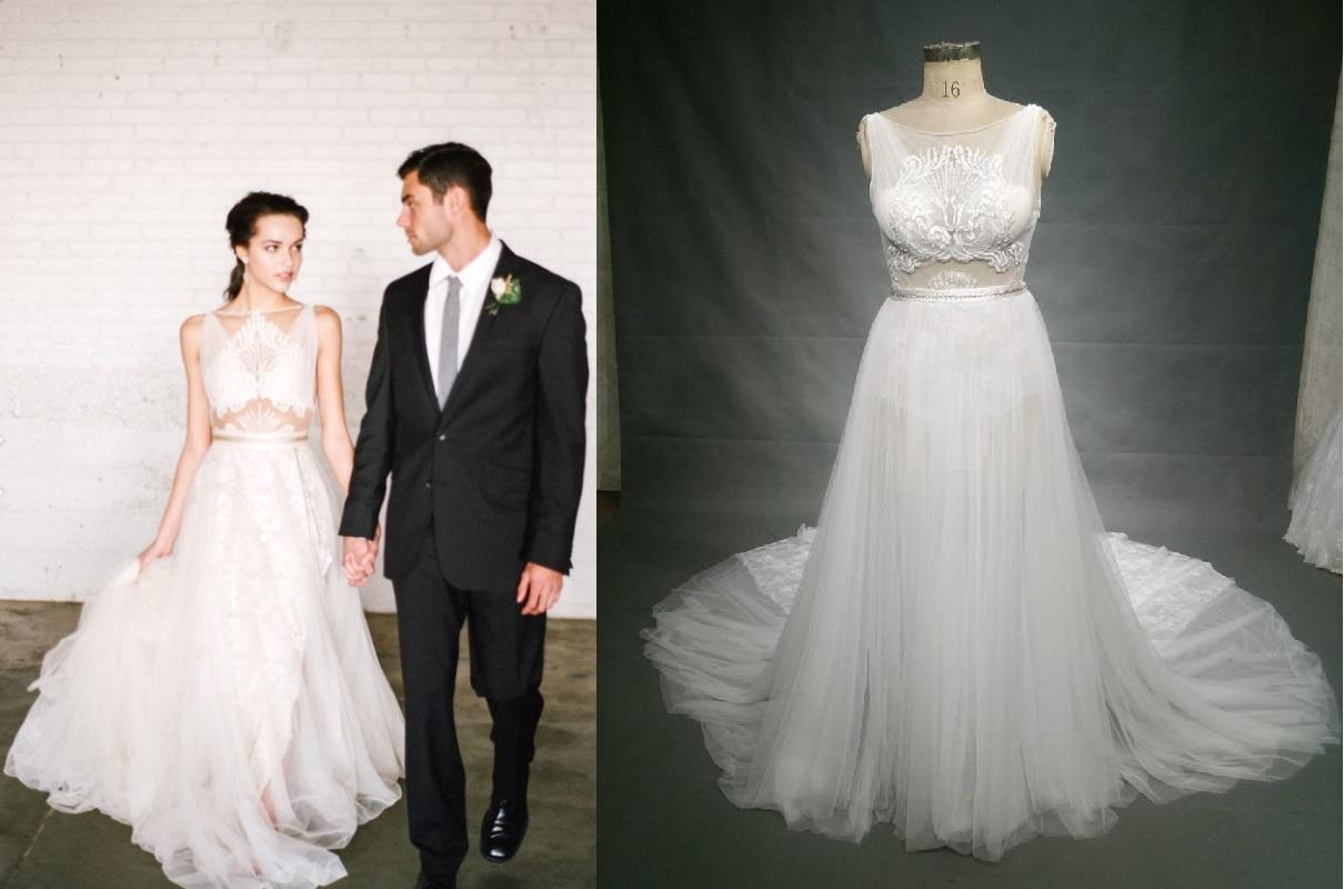 46082a8d906 Galia Lahav inspired plus size wedding dress · Darius Cordell ...