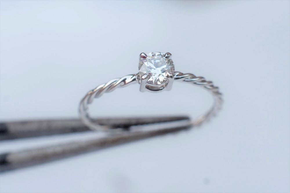 0 20ct Diamond Engagement Ring 18k Gold Ring White Gold Ring