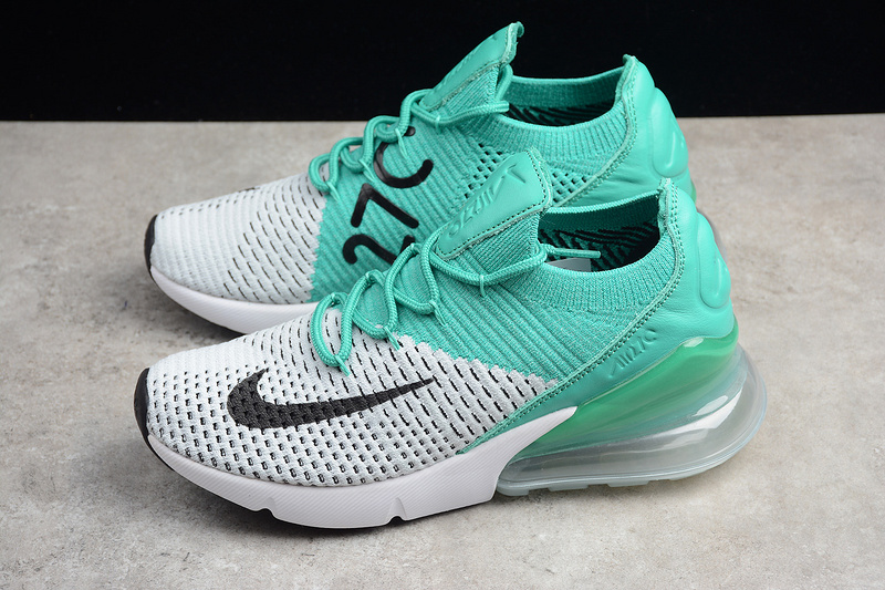 92450ef4f81 Nike Air Max 270 Flyknit Clear Emerald Shoes AH6803-300 on Storenvy