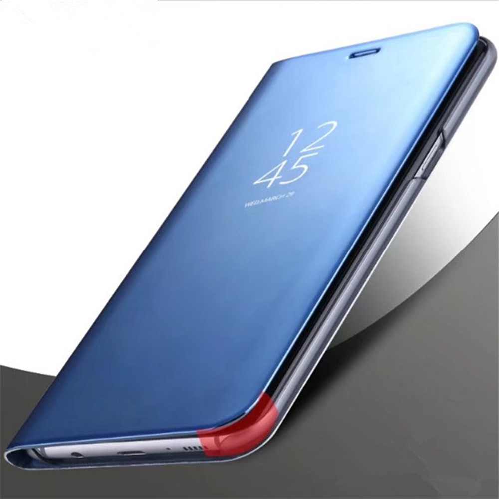 317c30404c Case Cover for Samsung Galaxy Note 8 with Stand Plating Mirror Flip ...