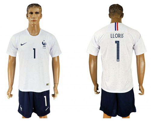 997ff2cb9 France  1 LLORIS Away Soccer Country Jersey on Storenvy
