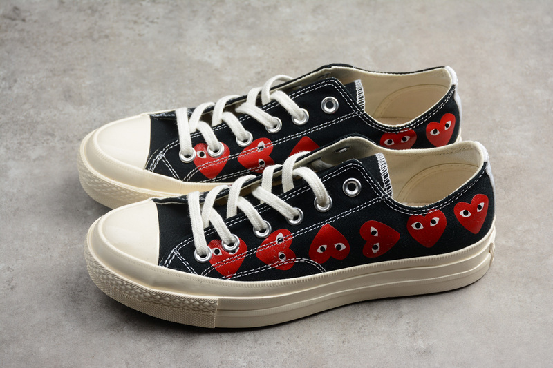 b7e8a85fb0f Converse CDG x Converse Chuck Taylor 70s Hi∕OX 18SS Low shoes on Storenvy