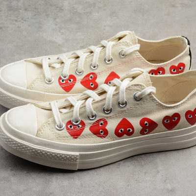 1b80752d755e7b Converse cdg x converse chuck taylor 70s hi∕ox 18ss low shoes - Thumbnail 2