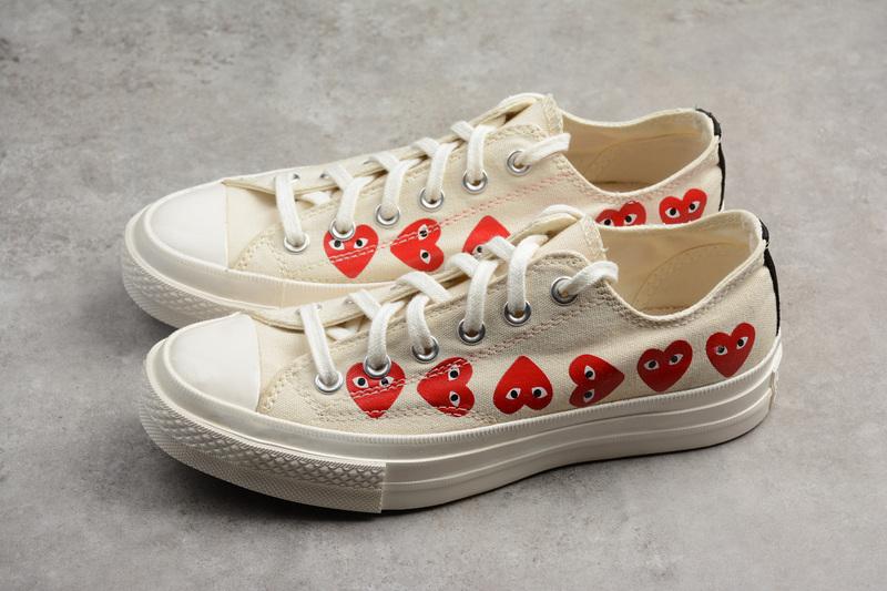 a24dd48ae489 Converse CDG x Converse Chuck Taylor 70s Hi∕OX 18SS Low shoes ...