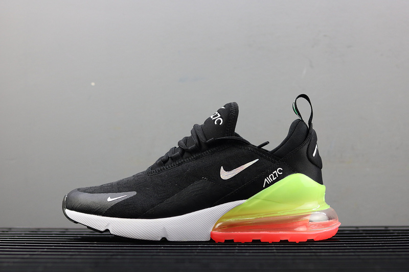 brand new 2c6f4 d7054 Nike Air Max 270 SE Black Running Shoes AQ9164-003