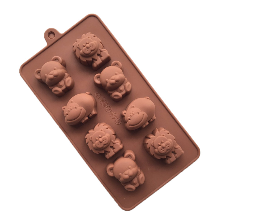 Image of: Jewelry File D63fab8d5a Original Storenvy Kawaii Animal Lion Bear Hippo Mold Resin And Polymer Clay Mold