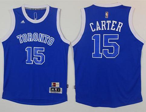 buy popular cf92c c9804 Raptors #15 Vince Carter Light Blue Throwback Stitched NBA Jersey sold by  NBAJerseysales1