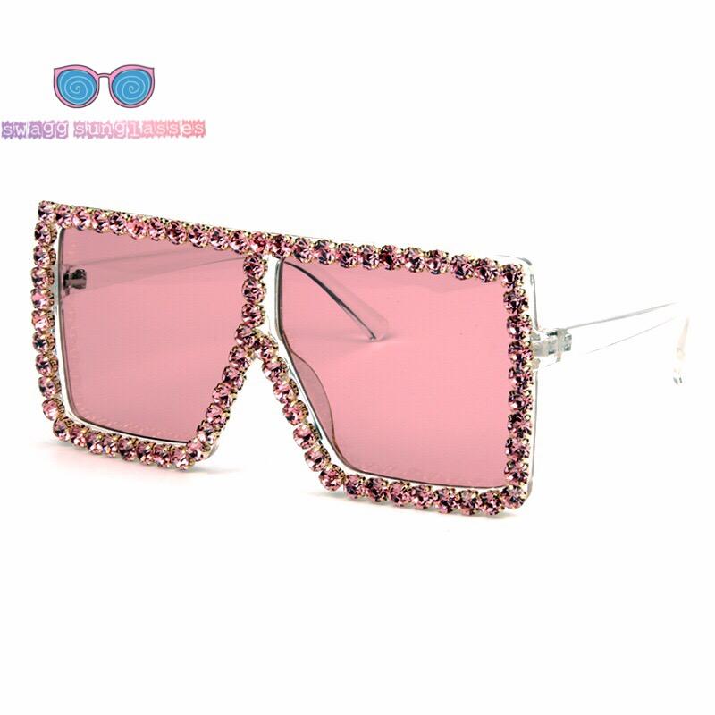 e15f7049acb4 ... Women s Trendy Rhinestone Sunglasses