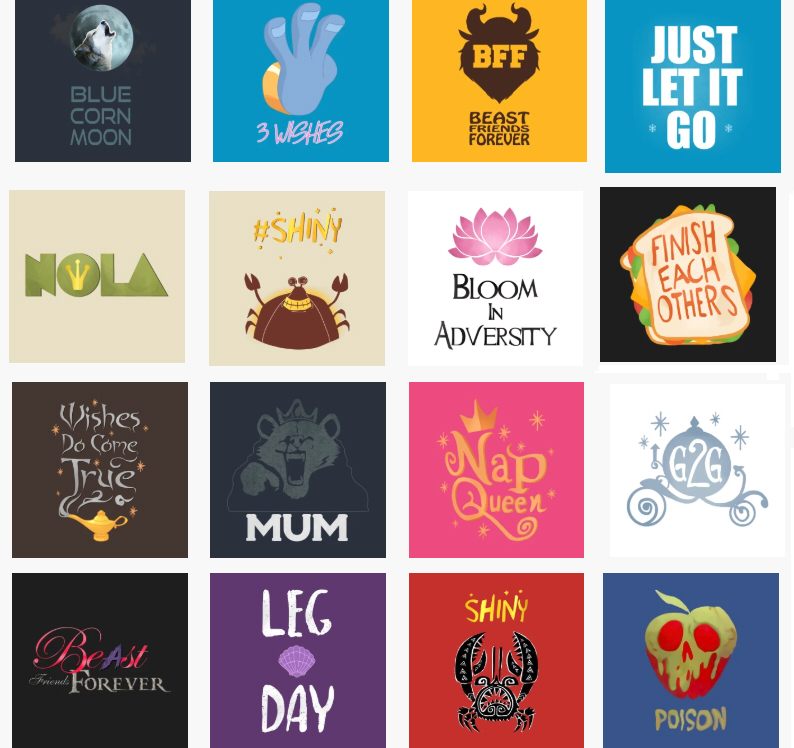 Disney Princess Shirt Graphics Pack All In One Nipahdubs